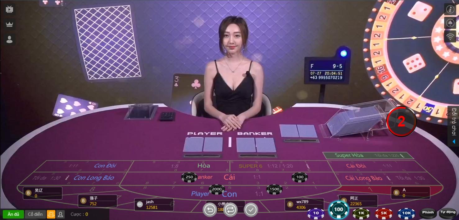 Đánh bài baccarat với những kinh nghiệm từ cao thủ cờ bạc