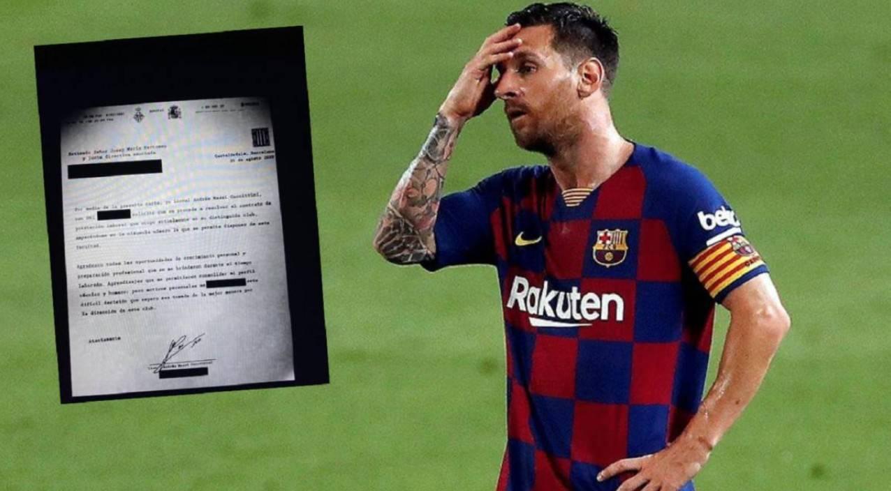 Messi tính kích hoạt điều khoản ra đi tự do và đáp trả của Barca