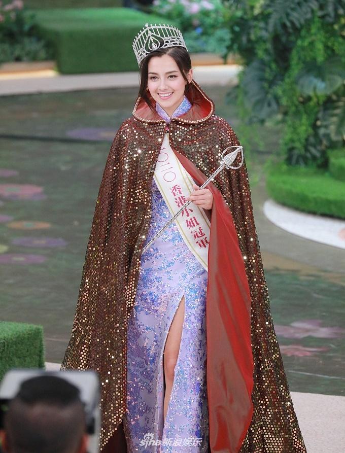 Người đẹp cao 1,6 m Hoa hậu Hong Kong trao vương miện cho Tạ Gia Di (Tạ Gia Di) 25 tuổi