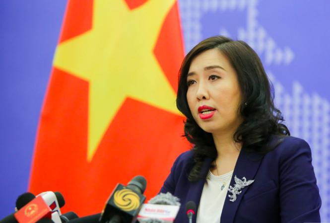 Việt Nam phản đối hành động bất hợp pháp của Trung Quốc ở Hoàng Sa