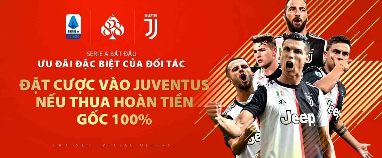 【2022 Tên sự kiện】 Đặt cược vào Juventus để giành gói độc quyền bao hoàn tiền nếu thua!