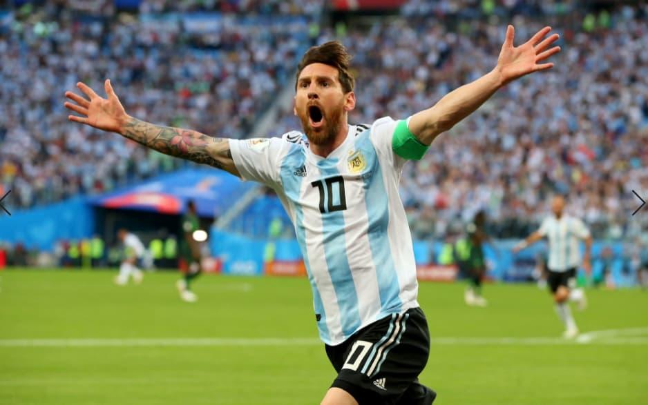 Cup của Mỹ – Argentina 1-1 Chile Messi sút phạt trực tiếp