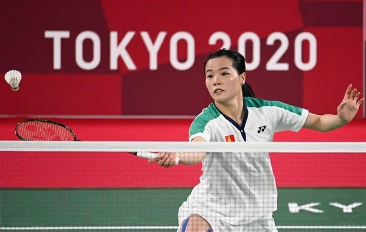 Thế vận hội Tokyo Thuỳ Linh thua tay vợt số một thế giới