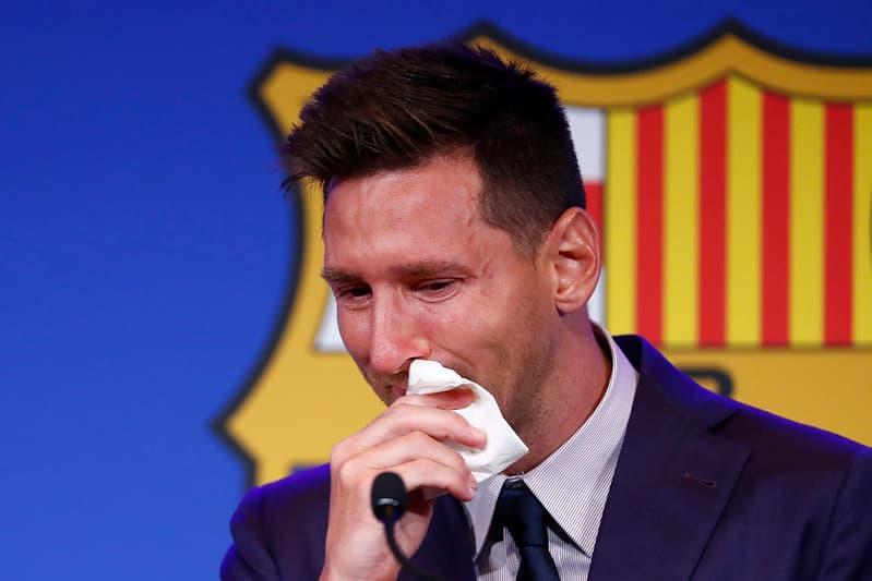 Messi chia tay Barcelona sau 21 năm, rơi lệ trong buổi họp báo chia tay người hâm mộ