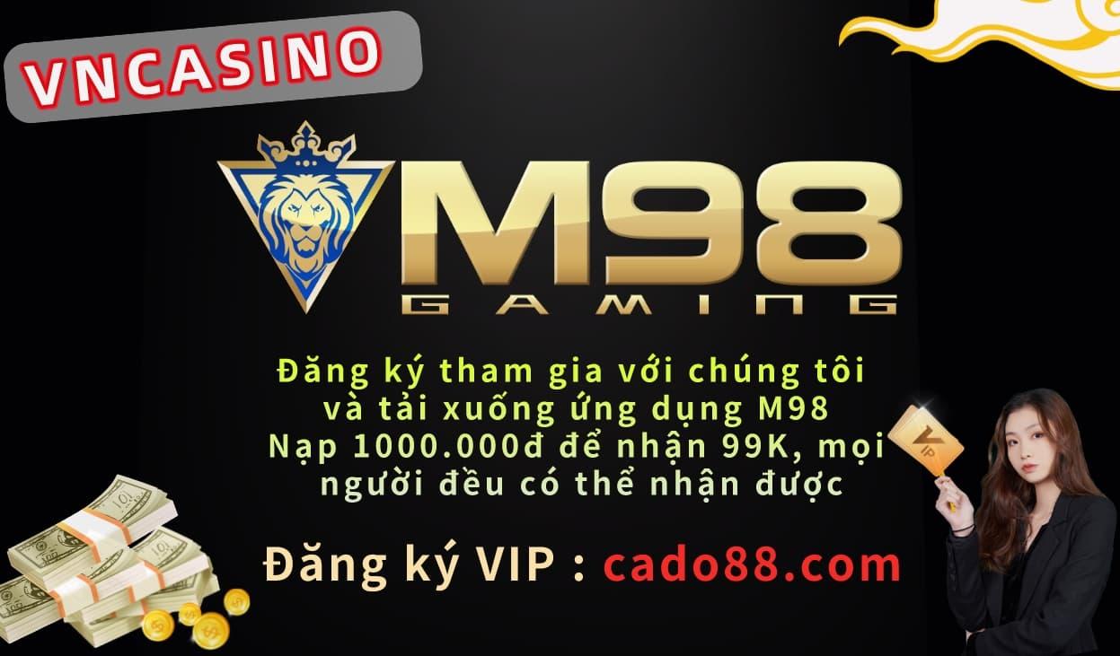 M98 CASINO Kỹ năng chiến thắng sòng bạc trực tuyến | Dạy tư duy đánh bạc 2021
